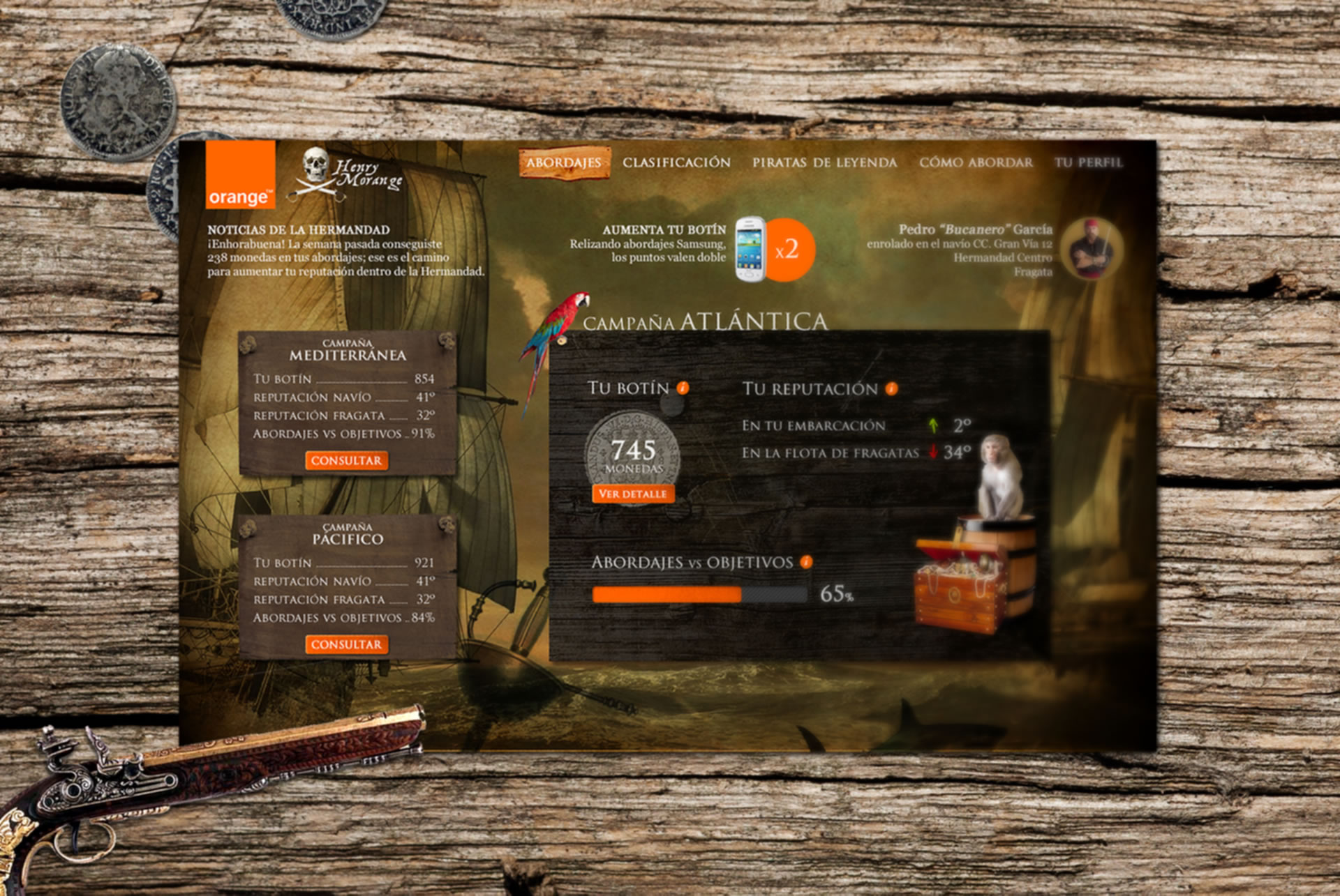Gamification Orange Tiendas BABELcreativa