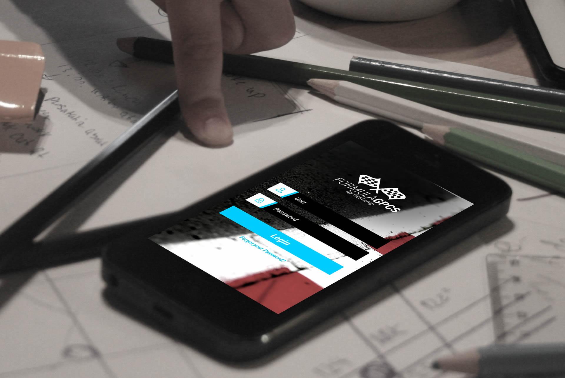Gestamp - GPCS - App Mobile